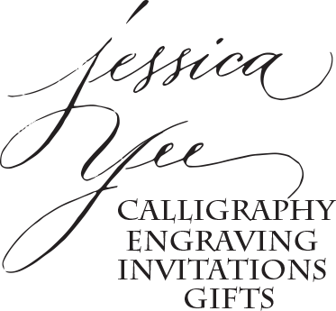 Calligraphy by Jessica Yee Logo