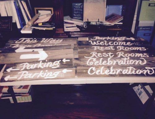 Reclaimed Wood Signage