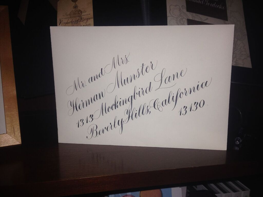 Addressing Wedding Invitations Etiquette – Calligraphy by Jessica Yee